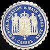 Siegelmarke Königliche Direktion der Main - Weser - Bahn - Cassel W0229487.jpg