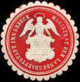 Siegelmarke Magistrat der Landeshauptstadt Innsbruck W0311334.jpg