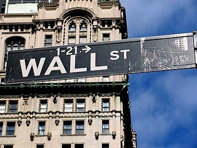 Sign at NYC (Wall St).