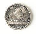 Silvermedalj, 1820 - Skoklosters slott - 109534.tif