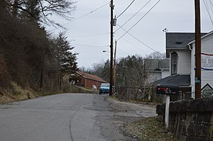 National Register of Historic Places listings in Mercer County, West Virginia - Image: Simmons Avenue, Bramwell