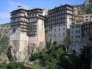 Latina: Simonopetra monastery in Mount Athos, ...
