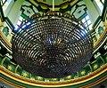 Singapore Abdul-Gaffoor-Moschee Innen Leuchter 2.jpg