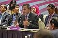 Singapore Foreign Minister Vivian Balakrishnan speaks at the East Asia Summit (29965116508).jpg