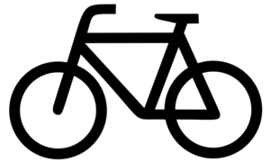 bicyclist (icon)