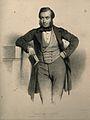 Sir John Eric Erichsen. Lithograph by C. Baugniet, 1853. Wellcome V0001783.jpg
