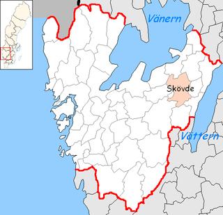Skövde Municipality Municipality in Västra Götaland County, Sweden