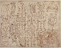 Sketches of Grotesques. MET 1971.513.28 RECTO.jpg