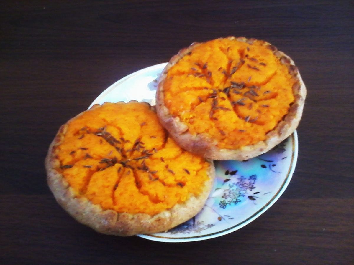 Sweet potato pie - 1 part 3