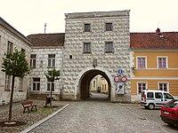 Slavonice, Jemnická brána.JPG