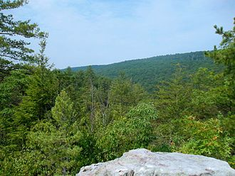 Sleepy Creek Mountain - Image: Sleepy Creek Mountain devils nose
