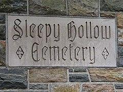 Sleepy Hollow Cemetery entrance sign.jpg
