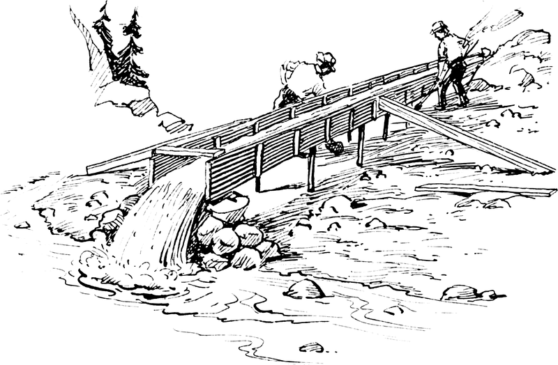 klondike gold rush coloring pages - photo#20