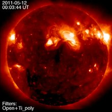 File:Snapshots of -One Location- on the Sun Over Five Years -Hinode XRT-.webm