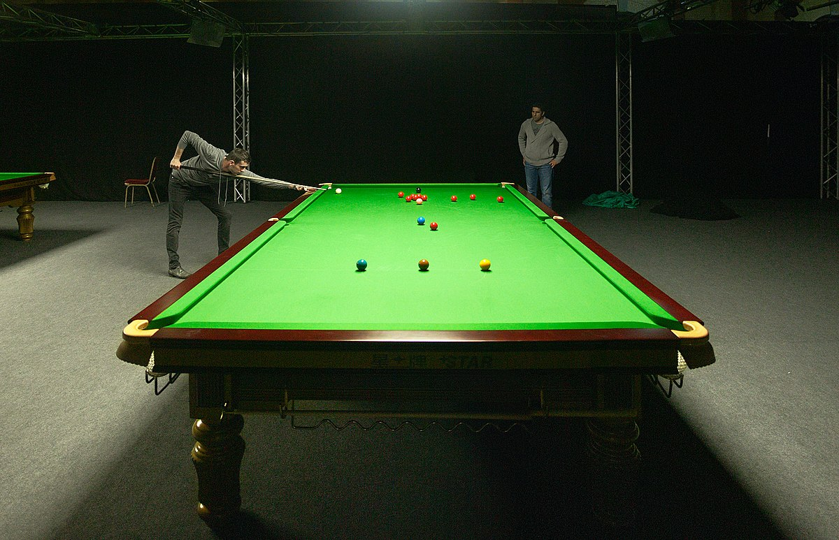 Snooker Wikipedia - English pool table
