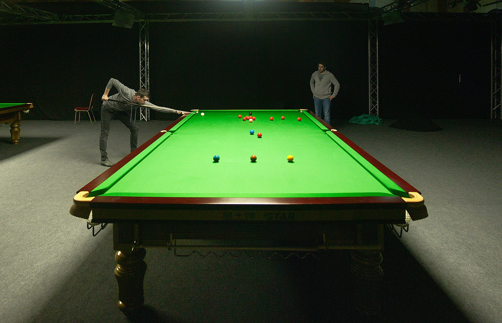 Snooker wikipedia - Taille table snooker ...