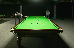 File photo of Mark Selby practice game of snooker.  Image: DmitryYakunin.