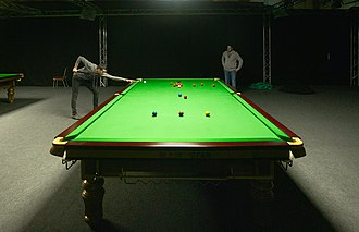 Snooker - 2014, 2016 and 2017 world champion Mark Selby playing a practice game