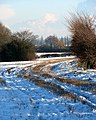 Snow-covered stubble - geograph.org.uk - 1630577.jpg