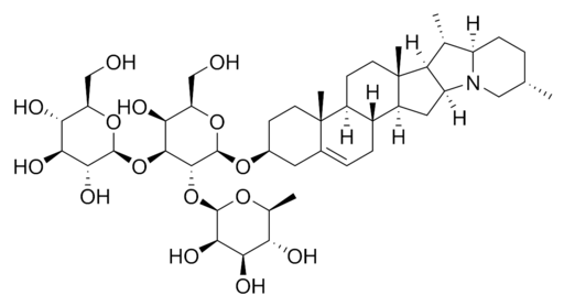 Solanine chemical structure