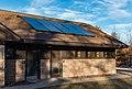 Solar Panels on Campground Shower Building - St. Croix State Park, Minnesota (31424586887).jpg