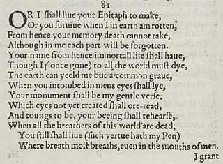 Sonnet 81 poem by William Shakespeare