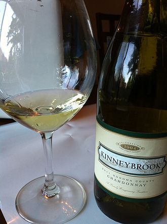 Sonoma County wine - A Chardonnay from Sonoma County.