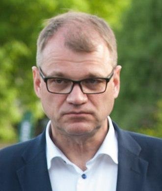 2015 Finnish parliamentary election - Juha Sipilä