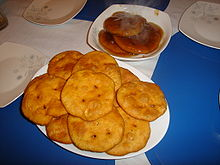 Central Chilean sopaipillas pasadas (soaked), and without chancaca ...