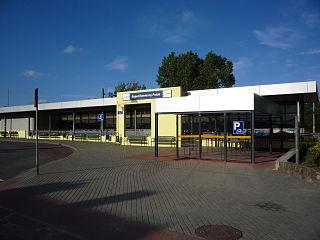 railway station in Sopot, Poland