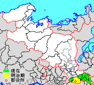 Sōraku District, Kyoto - Location of Sōraku in Kyoto prefecture