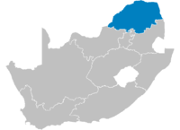 Location of the Limpopo Province