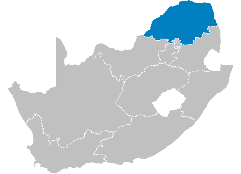 Ficheiro:South Africa Provinces showing LP.png