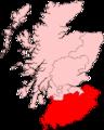 South of Scotland ScottishParliamentRegion.PNG