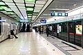 Southbound platform of Yuzhilu Station (20210302171957).jpg