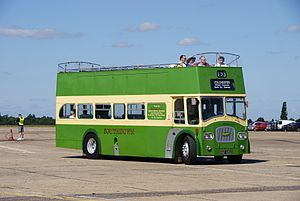 Southdown bus 426 (BUF 426C), 2010 North Weald bus rally (3).jpg