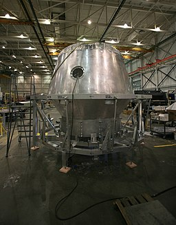 SpaceX factory Dragon capsule