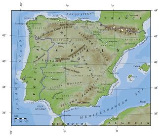 Spanische Karte.Sierra Morena Wikipedia