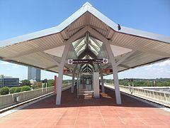 Spring Hill Metro platform 2