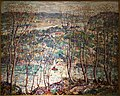 Spring Tapestry by Ernest Lawson, c. 1930, oil on canvas - New Britain Museum of American Art - DSC09572.JPG