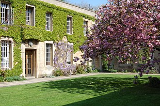 Regent's Park College, Oxford - The Quad in Spring