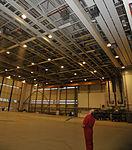 Sprinklers come alive in hangar five 150219-F-FN535-016.jpg