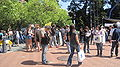 Sproul Plaza during Cal Day 2010 4.JPG