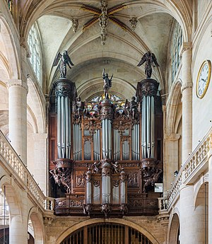 Saint-Étienne-du-Mont - The organ