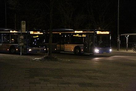 Busverkehr In München Wikiwand