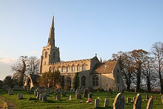 Quadring - Image: St.Margaret's church, Quadring, Lincs. geograph.org.uk 84021