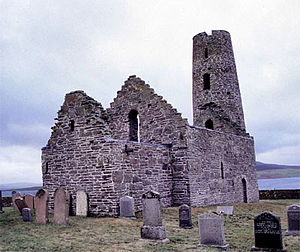 St. Magnus Church auf Egilsay