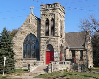 St. Martin of Tours Episcopal Church church building in Omaha, United States of America