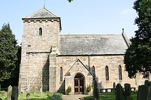 St Mary's Church, Lesbury (photo by Phil Thirkell)