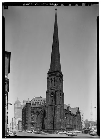 St. Paul's Cathedral (Buffalo, New York) - Image: St Pauls Cathedral Buffalo 2